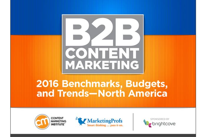 【最新版】2016年度、米BtoB企業コンテンツマーケティング最新調査レポート
