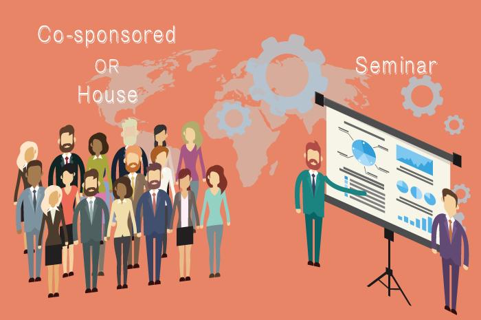 メリット・デメリット比較!自社セミナーと共催セミナー